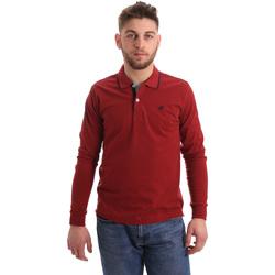Kleidung Herren Langärmelige Polohemden Key Up 2RG71 0001 Rot
