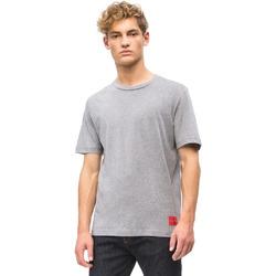 Kleidung Herren T-Shirts Calvin Klein Jeans J30J309616 Grau
