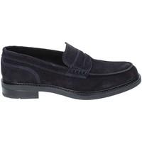 Schuhe Herren Slipper Rogers 1980 Blau