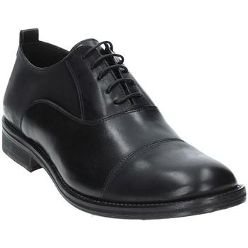 Schuhe Herren Richelieu Exton 9554 Schwarz