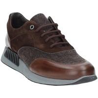 Schuhe Herren Sneaker Low Exton 161 Braun