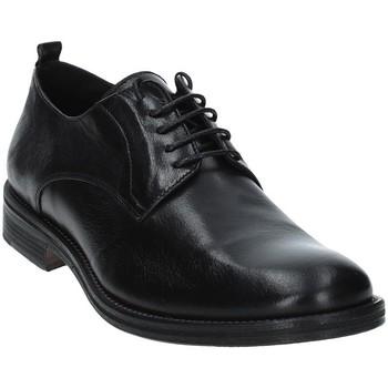 Schuhe Herren Derby-Schuhe Exton 9553 Schwarz