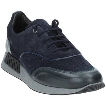 Schuhe Herren Sneaker Low Exton 161 Blau