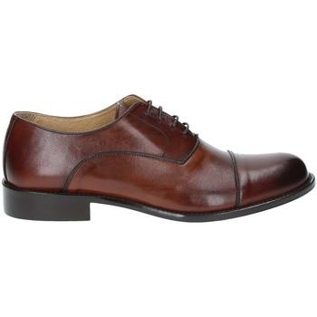 Schuhe Herren Richelieu Exton 6014 Braun
