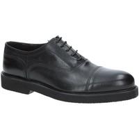 Schuhe Herren Richelieu Exton 5496 Schwarz