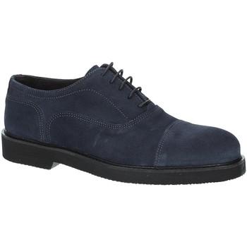 Schuhe Herren Richelieu Exton 5496 Blau