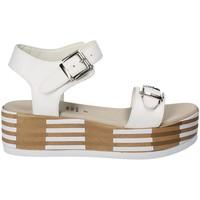 Schuhe Damen Sandalen / Sandaletten Grace Shoes 56423 Weiß