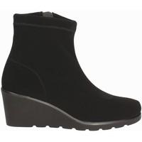 Schuhe Damen Low Boots Susimoda 825377 Schwarz