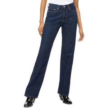 Kleidung Damen Straight Leg Jeans Calvin Klein Jeans J20J207612 Blau