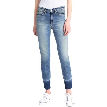 Kleidung Damen Slim Fit Jeans Calvin Klein Jeans J20J208060 Blau