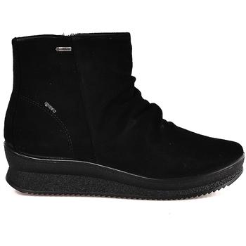 Schuhe Damen Low Boots IgI&CO 2166911 Schwarz