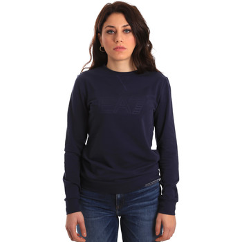 Kleidung Damen Sweatshirts Ea7 Emporio Armani 6ZTM84 TJ31Z Blau