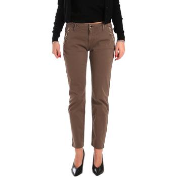 Kleidung Damen Chinohosen Gaudi 821BD25003 Braun