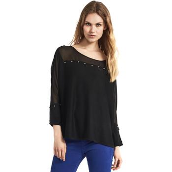 Kleidung Damen Pullover Gaudi 821FD53027 Schwarz