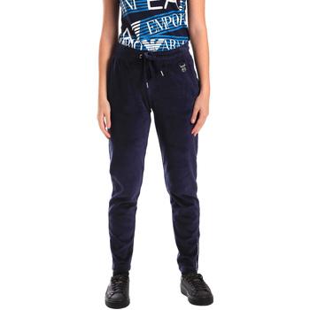 Kleidung Damen Jogginghosen Ea7 Emporio Armani 6ZTP87 TJN9Z Blau