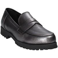 Schuhe Damen Slipper Grace Shoes 0215 Grau