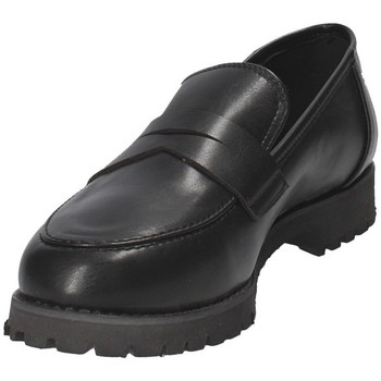 Grace Shoes 0215 Schwarz - Schuhe Slipper Damen 4990