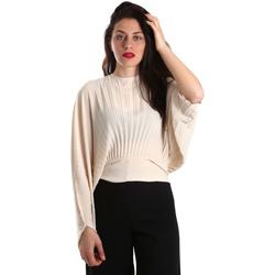 Kleidung Damen Tops / Blusen Denny Rose 821DD40001 Beige