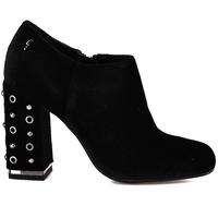 Schuhe Damen Ankle Boots Gattinoni PINDL0777W Schwarz