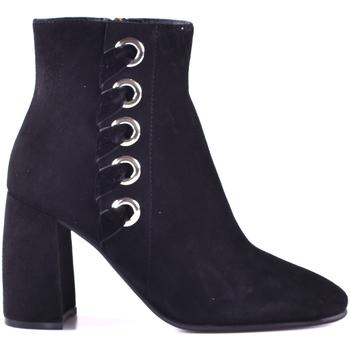 Schuhe Damen Low Boots Elvio Zanon I0603P.ELZAVTNENER Schwarz