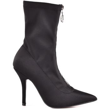 Schuhe Damen Low Boots Gold&gold B18 GD05 Schwarz