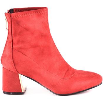 Schuhe Damen Low Boots Gold&gold B18 GY07 Rot