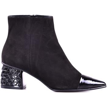 Schuhe Damen Low Boots Elvio Zanon I1603X.ELZNKCNENER Schwarz