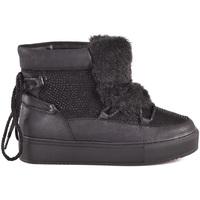 Schuhe Damen Low Boots Gold&gold B18 GS22 Schwarz