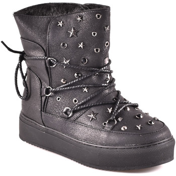 Schuhe Damen Low Boots Gold&gold B18 GS23 Schwarz