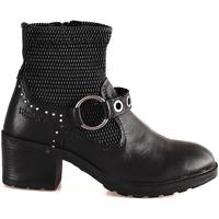 Schuhe Damen Low Boots Wrangler WL182550 Schwarz