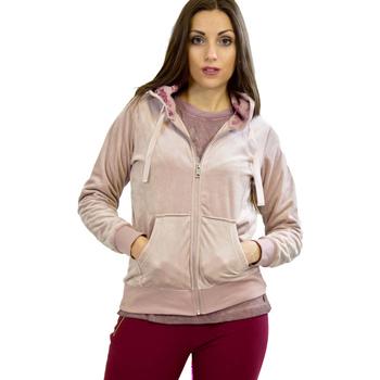 Kleidung Damen Sweatshirts Key Up 5CS57 0001 Rosa