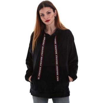 Kleidung Damen Sweatshirts Key Up 5CS91 0001 Schwarz
