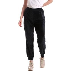Kleidung Damen Fließende Hosen/ Haremshosen Key Up 5CS55 0001 Blau