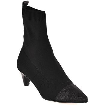 Schuhe Damen Low Boots Carmens Padova A42395 Schwarz