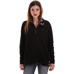 Kleidung Damen Sweatshirts Key Up 5FI46 0001 Schwarz