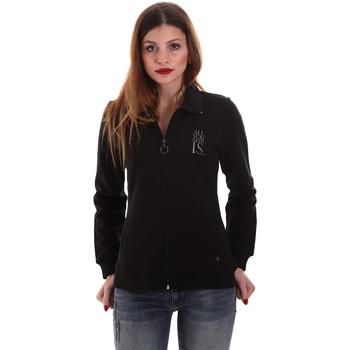 Kleidung Damen Sweatshirts Key Up 5EG20 0001 Schwarz