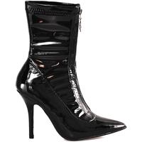 Schuhe Damen Low Boots Gold&gold B18 GD05V Schwarz