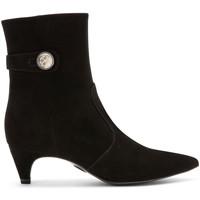Schuhe Damen Low Boots Carmens Padova A42191 Schwarz