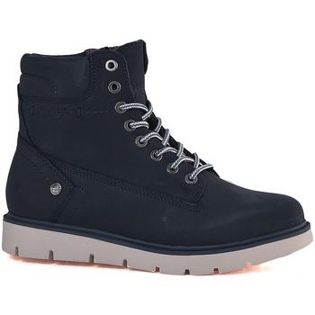 Schuhe Damen Boots Wrangler WL182510 Blau
