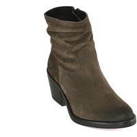 Schuhe Damen Low Boots Mally 5341 Grün