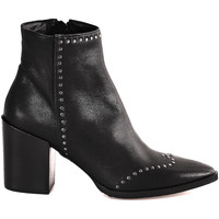 Schuhe Damen Low Boots Mally 6333 Schwarz