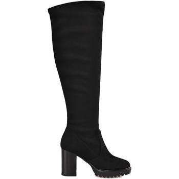 Schuhe Damen Klassische Stiefel Mally 6389 Schwarz