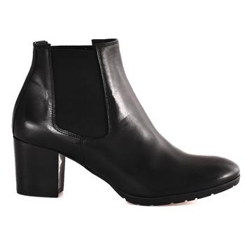 Schuhe Damen Low Boots Mally 6418 Schwarz