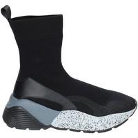 Schuhe Damen Sneaker High Studio Italia STAR 04 Schwarz