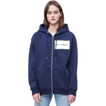 Kleidung Damen Sweatshirts Calvin Klein Jeans J20J207832 Blau