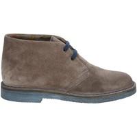 Schuhe Damen Boots Rogers 1102D Grau
