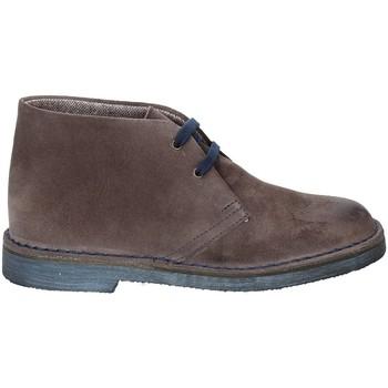 Schuhe Damen Boots Rogers 1102D Braun
