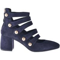 Schuhe Damen Pumps Elvio Zanon I0703P Blau