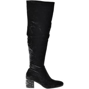 Schuhe Damen Klassische Stiefel Elvio Zanon I1903B Schwarz