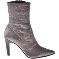 Schuhe Damen Low Boots Elvio Zanon I2906X Grau